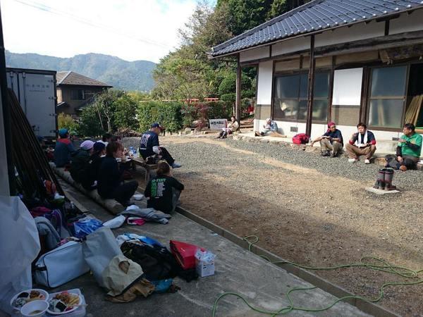 災害現場のボランティアの1日