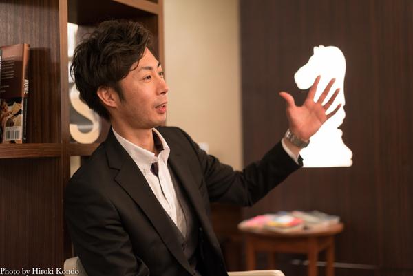 公開講座「介護の学校 in 八戸学院大学」を運営する熊谷大輔さん