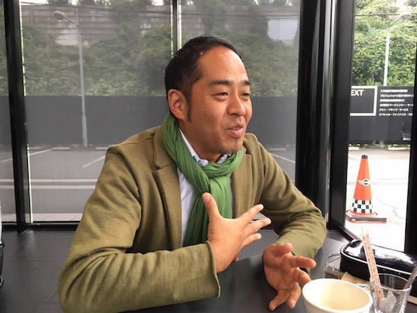 自身が運転する喜びを重視することについて語る上杉隆昭さん