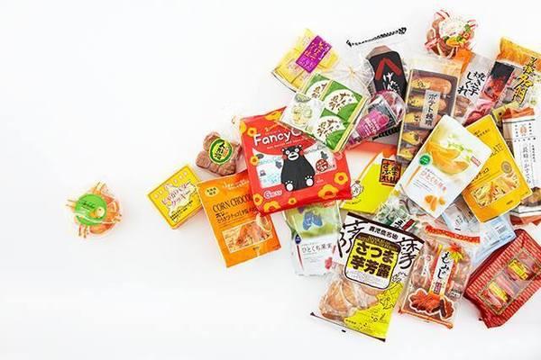 用意されている約5000種類のお菓子
